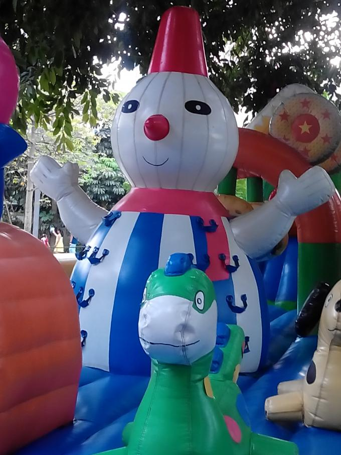 Hot Sale Inflatable Sports Funland / Inflatable Children Funcity