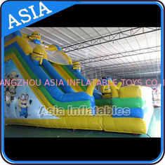 Trung Quốc PVC Tarpaulin Commercial Inflatable Bouncer Inflatable Minions Bouncy Castle nhà máy sản xuất