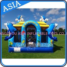 Trung Quốc Sea World Bouncy House Inflatable Bouncer Children Amusement Sports nhà máy sản xuất