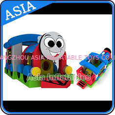 Trung Quốc Commercial Inflatable Bouncer Choo Choo Train Bouncy House For Kids nhà máy sản xuất