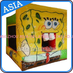 Trung Quốc Lovely Inflatable Sponge Bob Cartoon Bouncy Castle For Party Hire Games nhà máy sản xuất