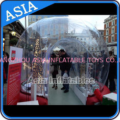 Trung Quốc Durable Human Inflatable Snow Globe / Inflatable Tent For Chirstmas nhà máy sản xuất