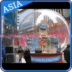 Trung Quốc Airblown Yard Inflatable Bubble Tent Decoration , Inflatable Christmas Snow Globe nhà máy sản xuất