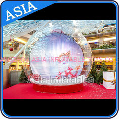 Trung Quốc CE Approval X - Mas Christmas Inflatable Snow Globe For Photo Taking nhà máy sản xuất