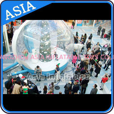 Trung Quốc Christmas Inflatable Snow Globe Inflatable Bubble Tent Water And Fire Proof nhà máy sản xuất