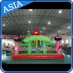 Inflatable Angry Bird Bouncer Slide Palyground / Inflatable Angry Bird Jumping Bouner Castle Combo