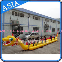 Trung Quốc Yellow Dragon Banana Shaped Inflatable Boats 12 Person Water Sport Games For Adult nhà máy sản xuất