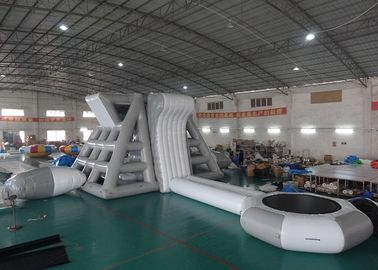 Trung Quốc Amercian Customized Water Park Combo Inflatable , Inflatable Big Slide Park nhà máy sản xuất