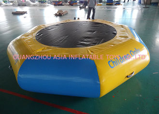 Trung Quốc Commercial Water Games Inflatable Crocodile Water Trampoline With 0.9mm Pvc Tarpaulin nhà máy sản xuất