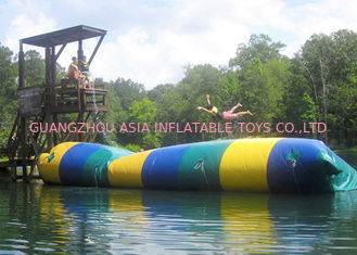 Trung Quốc Floating Inflatable Water Trampolines , Lake Inflatable Water Blob nhà máy sản xuất