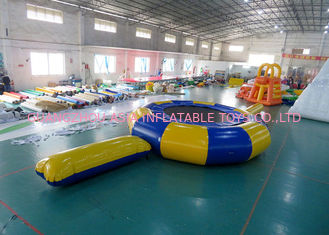 Trung Quốc Rave Aqua Jump Eclipse Water Parks , Inflatable Water Games Chinese Supplier nhà máy sản xuất