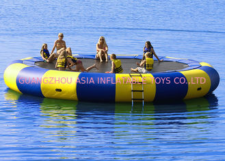 Trung Quốc 4m bule and yellow water trampoline, inflatable water games trampoline nhà máy sản xuất