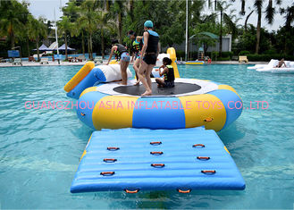 Trung Quốc China Inflatable Water Trampoline Water Sport Toys , Inflatable Water Games nhà máy sản xuất
