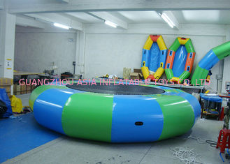 Trung Quốc Commercial Air Tight Inflatable Water Trampoline For Water Sport Games nhà máy sản xuất