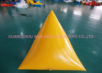 Trung Quốc Triangle Shape Yacht Race Market Inflatable Buoys For Water Triathlons Advertising nhà máy sản xuất