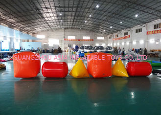 Trung Quốc Triangle ,  Cube Shape and Cylinder shape of Inflatable Buoy On Sale For Water Games nhà máy sản xuất