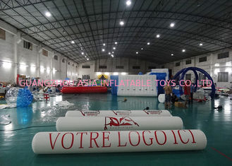 Trung Quốc Inflatable Promoting Strip Buoy For Ocean Or Lake Advertising , Inflatable tube buoys nhà máy sản xuất
