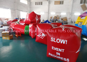 Trung Quốc Water Triathlons Advertising Inflatable Promoting Buoy For Ocean Or Lake nhà máy sản xuất