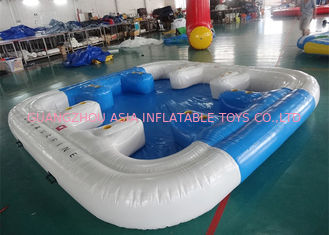 Trung Quốc 6 Person Floating Island , Inflatable Island Rafts For River and Ocean nhà máy sản xuất