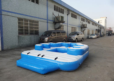 Trung Quốc Entermainment 6 Person Inflatable Floating Island , Inflatable Shock Rocker nhà máy sản xuất