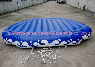 Trung Quốc 4 Passangers Inflatable Water Ski Tubes Towable Water Surfboard Platform For Beach nhà máy sản xuất