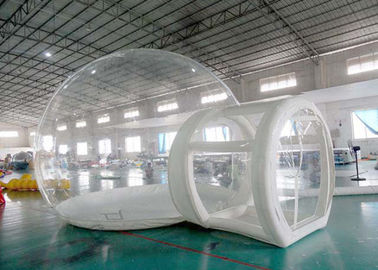 Trung Quốc Half Transparent Inflatable Dome Tent / Bubble Tent For Lawn Camping nhà máy sản xuất