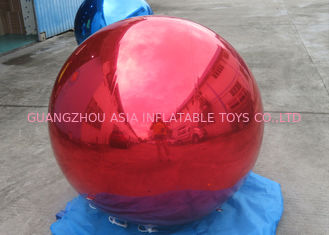 Trung Quốc Helium Advertising Inflatables Red Mirror Balloon For Building Decoration nhà máy sản xuất