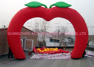 Trung Quốc Custom New Design Welcome Gate Inflatable Arch, Inflatable Red Apple Archway nhà máy sản xuất
