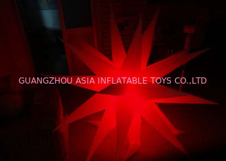 Trung Quốc Bright Inflatable LED Lighting Hanging Christmas Star for sale nhà máy sản xuất