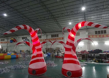 Trung Quốc Beauty Inflatable Tentacle With Led Lighting For Party / Stage / Room Decoration nhà máy sản xuất