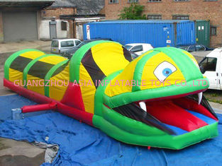 Trung Quốc Inflatable Tunnel Maze , Snake Train Tunnel For School Amusement Equipment nhà máy sản xuất