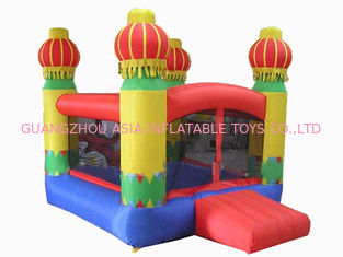 Trung Quốc 3m Yellow Inflatable Amusement Park With Smileface Mini Bouncer nhà máy sản xuất