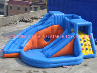 Trung Quốc Pink Inflatable Amusement Park With Mini Princess Bouncer Castle With Slide nhà máy sản xuất