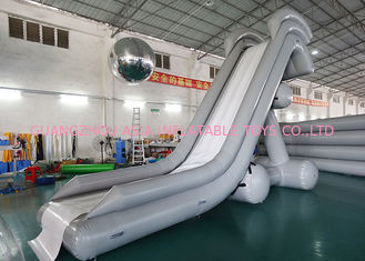 Trung Quốc 0.90mm PVC Water Slide, Inflatable Water Sports For Water Park nhà máy sản xuất