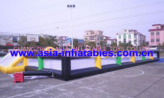 Trung Quốc Portable Large Inflatable Soccer Pitch For Commercial Use , Inflatable Soccer Field nhà máy sản xuất