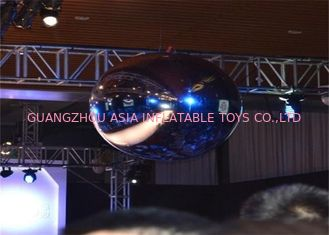 Trung Quốc Advertising Mirror Helium Balloon And Silver Mirror Ball Inflatable For Party nhà máy sản xuất