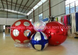 Trung Quốc Stage Customized Advertising Fireproof Inflatable Mirror Ball For Christmas Decoration nhà máy sản xuất