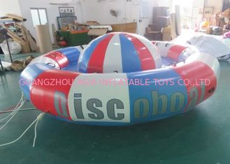 In kỹ thuật số Turntable Inflatables Spinning thuyền, 8 người Towable Tube