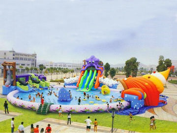 Commercial Inflatable Water Park Games For Business Rental
