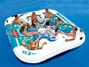 Trung Quốc Water Proof Fiesta Inflatable Floating Island , Family Inflatable Boat nhà máy sản xuất