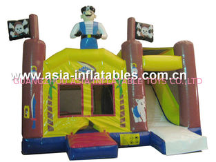 Trung Quốc 2014 Hot sale Inflatable bouncer house Inflatable combo with slide nhà máy sản xuất