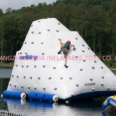 Funny Ice Water Iceberg / 0.9mm PVC Tarpaulin Plato Water Jumping Games