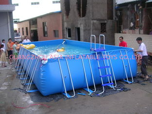 Trung Quốc Lovely New Design Huge Commercial PVC Adults and Kids Inflatable Pool with Various Colours nhà máy sản xuất