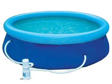 Trung Quốc Blue Colour Kids Inflatable Pool Center with Water Filters nhà máy sản xuất