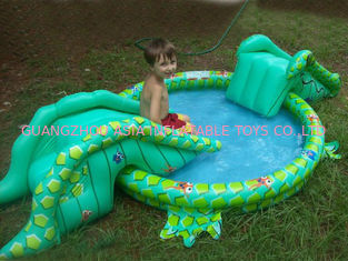 Trung Quốc Small Water Park Kids Inflatable Pool with Animal for Backyard Play nhà máy sản xuất