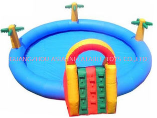 Trung Quốc 2014 Commercial Inflatable Water Park Kids Inflatable Pool with Slide for Outdoor Using nhà máy sản xuất