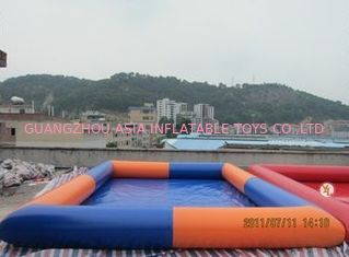 Trung Quốc Colored Rectangular Kids Inflatable Pool for Water Park Games Using nhà máy sản xuất
