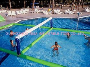 Trung Quốc Inflatable Water Volleyball Field For Swimming Pool Sports Games nhà máy sản xuất