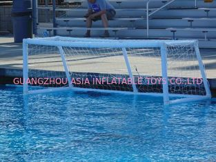 Trung Quốc Pure White PVC Inflatable Water Sports , Pool Floating Water Polo Goals nhà máy sản xuất