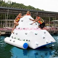 Trung Quốc 3m Height Inflatable Water Sports , Inflatable Climbing Wall With Water Slide nhà máy sản xuất